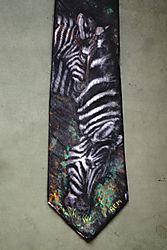 ZebrasMotherandDaughter_handpaintednecktie.jpg
