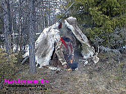 Shaman in Northern Lappland