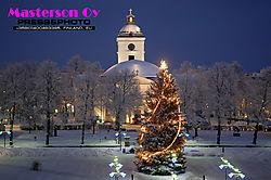 Christmas Eve in Hämeenlinna city
