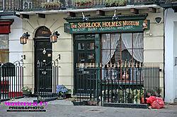 The Sherlock Holmes Museum in London