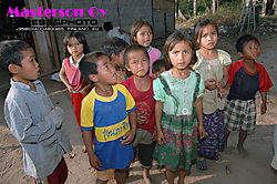 Children in Laos
