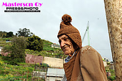 Farmer in Madeira Island