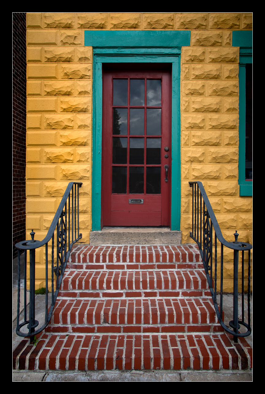 Colorful-Door-and-Steps
