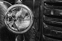 King_Gold_Mine_Truck_Headlight_1_HDR_B_W.jpg