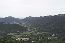 The_Corbieres_from_Chateau_Peyrepertuse_Chateau_Queribus_in_the_Distance.jpg