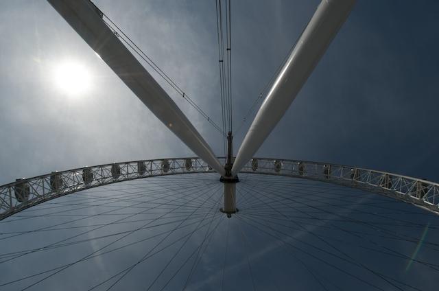 London_eye_from_below
